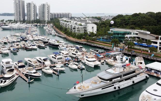 Singapore-via-Yacht-Charter