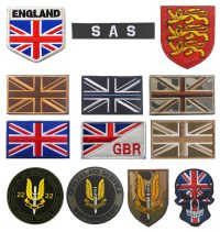 Embroidered Patches for UK Travelers
